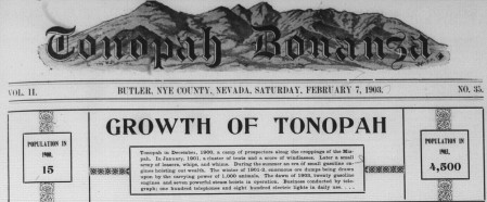 Growth of Tonopah