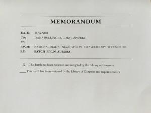 Batch Aurora acceptance letter