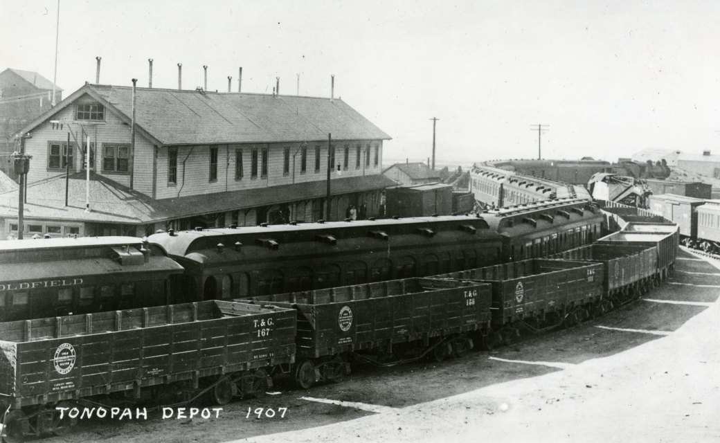 36 Tonopah Train Depot 1907 Unr