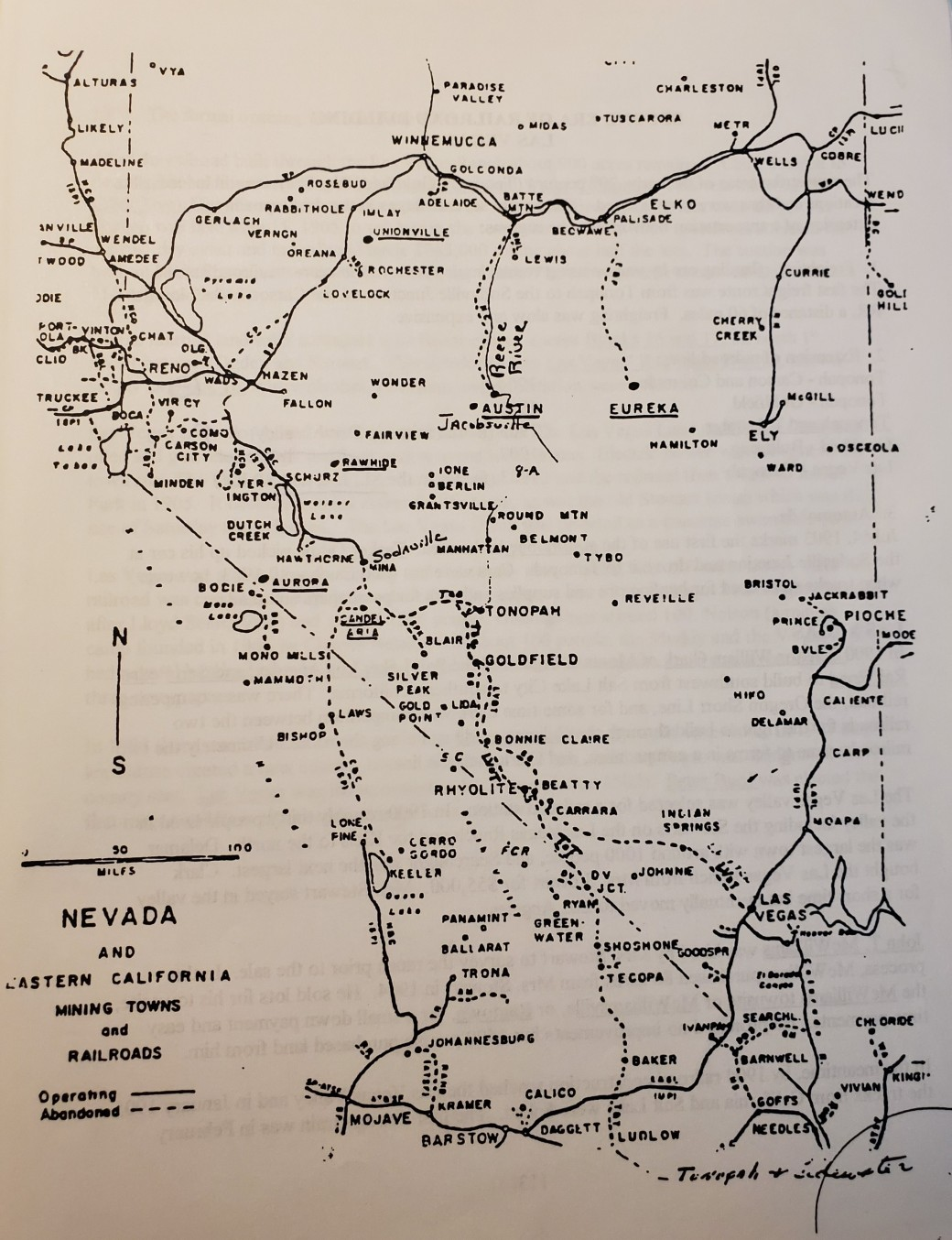 mining towns and rails