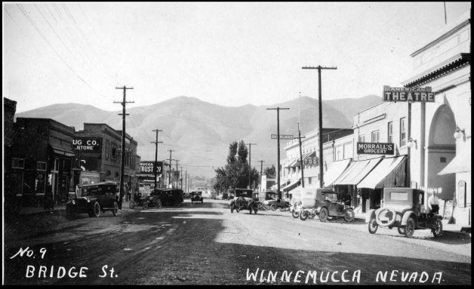 UNR Photograph of No. 9. Bridge Street