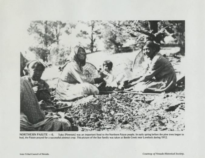 1912 Sue Family near Lovelock UNLV