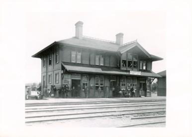 Railroad station UNR