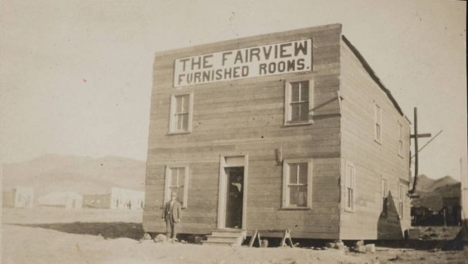 unlv 1906 The Fairview, furnished rooms, Seven Troughs mining district